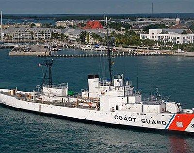 USCGC INGHAM arrives in Key West
