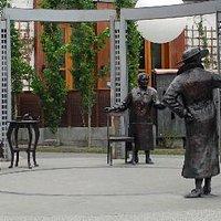 Famous Five monument, aka