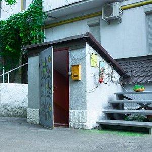 Svitlytsya: entrance to the gallery