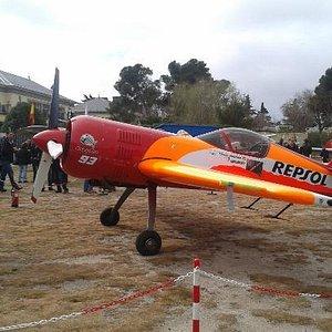 Avión de acrobacias profesional.