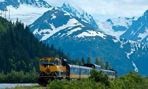 South route of the Alaska Railroad.