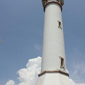 The towering Cape Bolinao Lighthouse