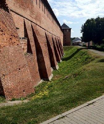 Стена кремля
