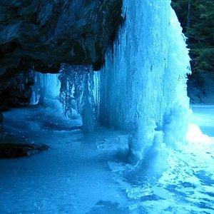 Frozen Beede Falls
