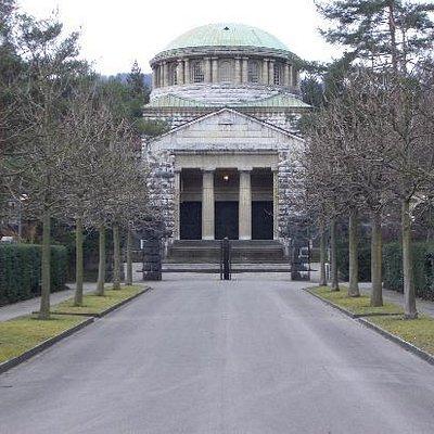 Das originale Krematorium