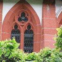 detail choir exterior