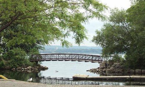 Bridge at La Salle Marina, Lake Ontario, Canada