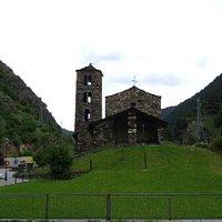 Iglesia Sant Joan de Caselles, Canillo, Andorra.