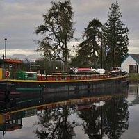 Fingal of Caledonian Moored at The locks in Fort William