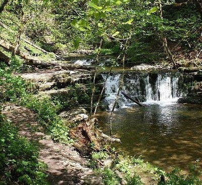 Wasserfall der Gauchach