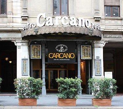 Ingresso Teatro Carcano da Corso di Porta Romana, 63