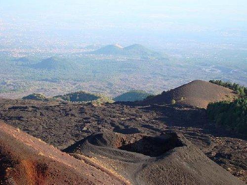 Crateri Silvestri, Etna Sud