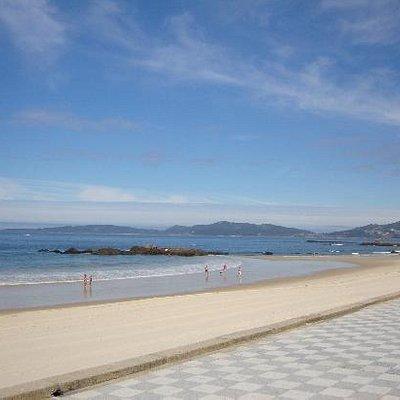 vista de la costa (Playa Samil) VIGO