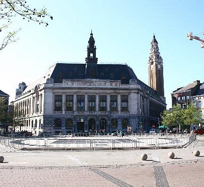 Charleroi Hotel de Ville (City Hall)