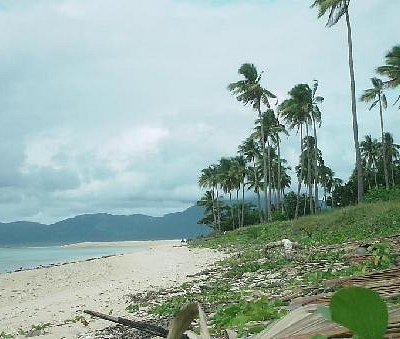 An unadulturated Romblon beach