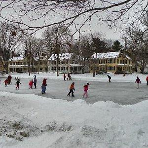Skaters in the Park - Maine Street, Brunswick, Maine