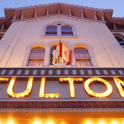 Fulton Theatre, built in 1852.