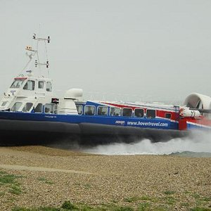 Hovercraft Southsea to Ryde