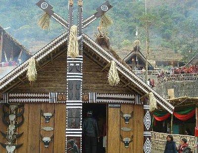 hut of pochury tribe