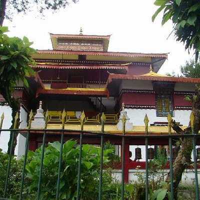 Enchey Monastery View 1