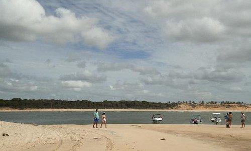 A Lagoa das Guaraíras