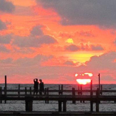 Sunset at Spa Baan Suerte