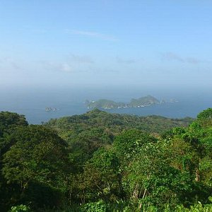 """There is St. Giles or """"Little Tobago"""" called by locals . View from Tobago"""