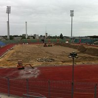 Pitch being relaid June 2012