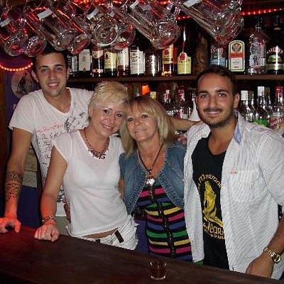 The Mermaid Bar/ Den lille Havfrue/ La Sirenita-Jarras, Ibiza