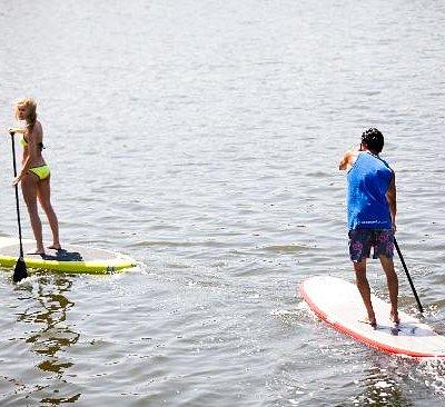 Paddle chase