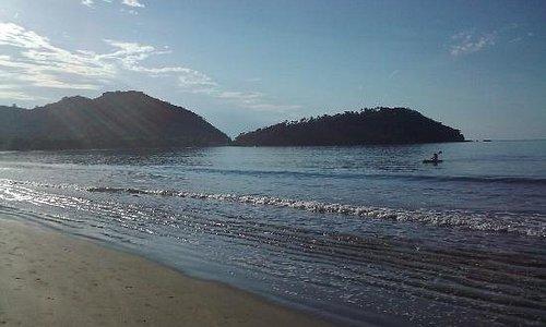 Nada melhor que comecar o dia assim! Praia do Lázaro, Ubatuba, São Paulo, Brasil