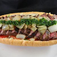 10 oz NY Strip Steak Sandwich
