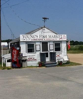 Young's Fish Market in Rock Harbor