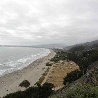 Blick auf Stinson Beach