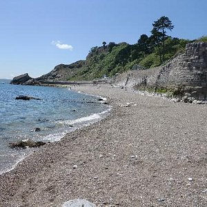 Meadfoot Beach, Looking West