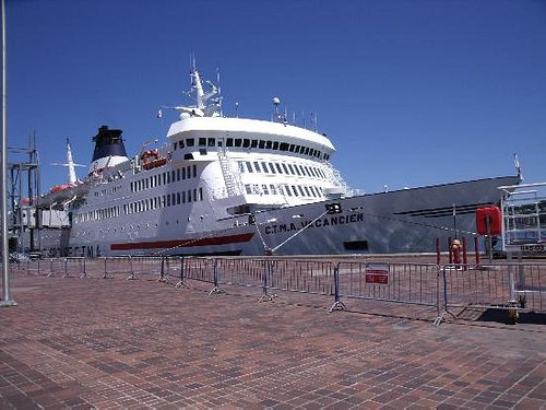 """The """"Vacancier"""" - the ship that plies between Montreal and the Magdalen Islands"""
