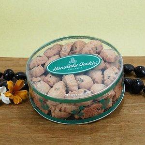 Chocolate Chip Macadamia Mini Bites Round Container