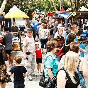 Vibrant & exciting market atmosphere