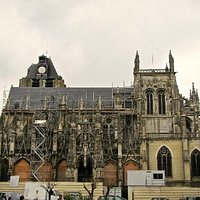 South facade, Notre-Dame, Louviers