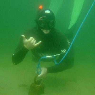 Freediving in Mullaghmore, Sligo.
