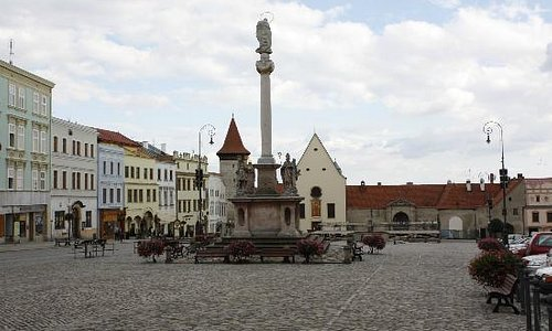 Plague Column on Masaryk Square