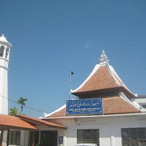 View from front of mosque