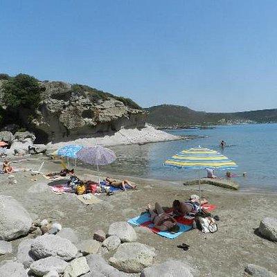 Nices beach in Bosa