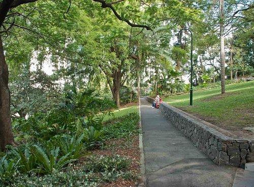 Pathway through King Edward Park