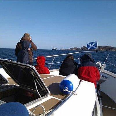 Heading to the Isle of Rona