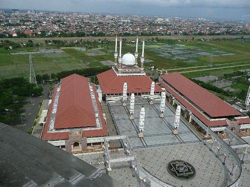 Moschee Gesamtkomplex