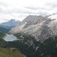 Lago Fedaia_Marmolada