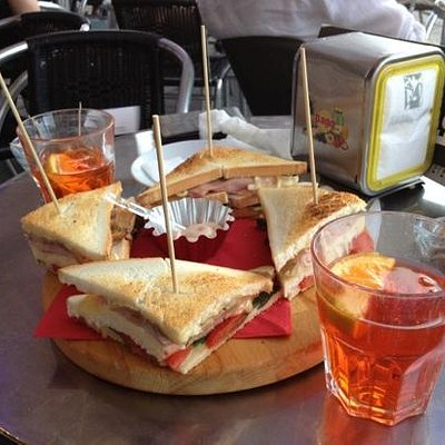 spritz con club sandwich