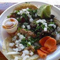 dinner of tacos