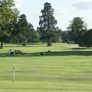 View of the course from the clubhouse